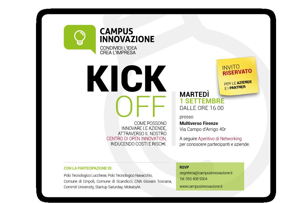 KickOFF 1° Settembre 2015