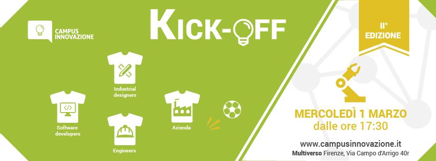 1 Marzo dalle 17.30 Kick-Off – II° Edizione Campus Innovazione