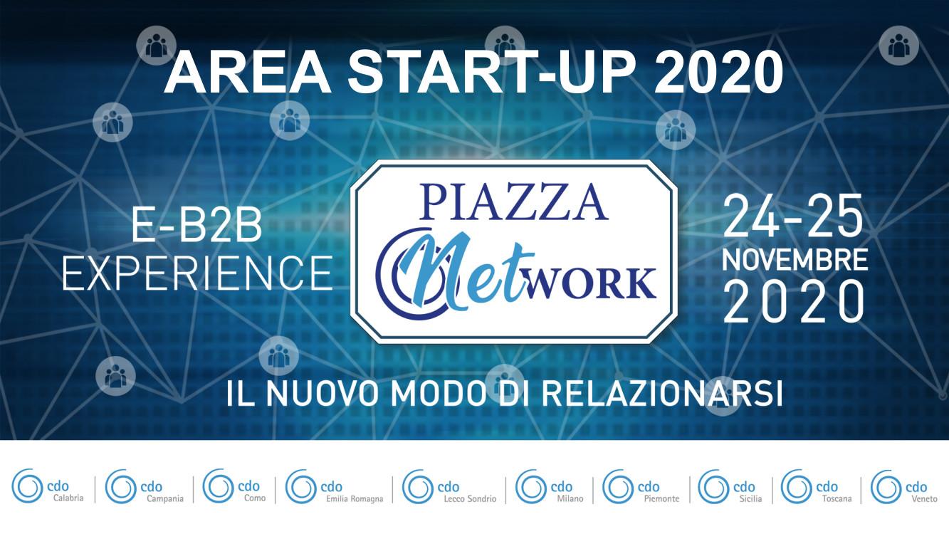 24 e 25 Novembre 2020 – B2B gratuito per startup a Piazza Network